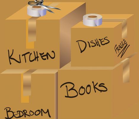 Votre check-list pour préparer votre déménagement